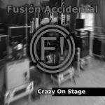 Portada Crazy on stage (álbum)